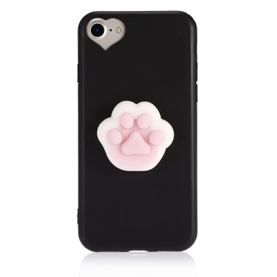 3D Solid Cat-pad Claw TPU Soft Phone Case for iPhone 7iPhone Cases/Covers<br>3D Solid Cat-pad Claw TPU Soft Phone Case for iPhone 7<br><br>Compatible for Apple: iPhone 7<br>Features: Anti-knock, Back Cover<br>Material: TPU<br>Package Contents: 1 x Phone Case<br>Package size (L x W x H): 21.50 x 13.50 x 3.20 cm / 8.46 x 5.31 x 1.26 inches<br>Package weight: 0.0550 kg<br>Product size (L x W x H): 14.00 x 7.00 x 2.20 cm / 5.51 x 2.76 x 0.87 inches<br>Product weight: 0.0300 kg<br>Style: Contrast Color, Ultra Slim, Pattern, Cartoon, Cute, Funny