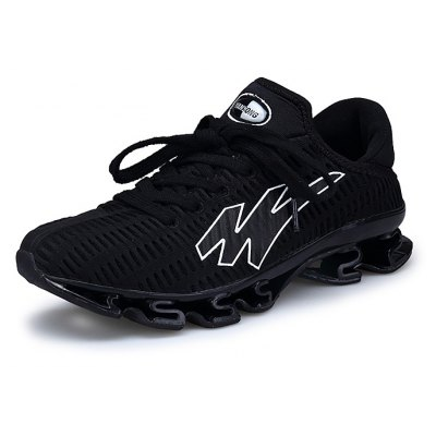 Male Athletic Lace Up Slip Resistance Outdoor Tank Shoes