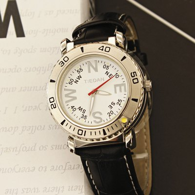 TIEDAN Men Leather Band Analog Quartz WatchMens Watches<br>TIEDAN Men Leather Band Analog Quartz Watch<br><br>Band material: Leather<br>Band size: 17 x 2cm<br>Case material: Alloy<br>Clasp type: Pin buckle<br>Dial size: 4 x 4 x 1.4cm<br>Display type: Analog<br>Movement type: Quartz watch<br>Package Contents: 1 x Watch<br>Package size (L x W x H): 28.00 x 8.00 x 3.50 cm / 11.02 x 3.15 x 1.38 inches<br>Package weight: 0.1500 kg<br>Product size (L x W x H): 17.00 x 4.00 x 1.40 cm / 6.69 x 1.57 x 0.55 inches<br>Product weight: 0.1000 kg<br>Shape of the dial: Round<br>Watch mirror: Mineral glass<br>Watch style: Fashion<br>Watches categories: Men