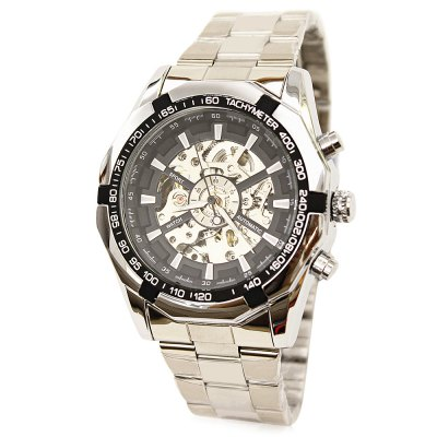 TIEDAN Men Steel Band Mechanical WatchMens Watches<br>TIEDAN Men Steel Band Mechanical Watch<br><br>Band material: Steel<br>Band size: 17 x 2cm<br>Brand: TIEDAN<br>Case material: Alloy<br>Clasp type: Sheet folding clasp<br>Dial size: 4.5 x 4.5 x 1.5cm<br>Display type: Analog<br>Movement type: Mechanical watch<br>Package Contents: 1 x Watch<br>Package size (L x W x H): 28.00 x 8.00 x 3.50 cm / 11.02 x 3.15 x 1.38 inches<br>Package weight: 0.2000 kg<br>Product size (L x W x H): 17.00 x 4.50 x 1.50 cm / 6.69 x 1.77 x 0.59 inches<br>Product weight: 0.1500 kg<br>Shape of the dial: Round<br>Watch mirror: Mineral glass<br>Watch style: Fashion<br>Watches categories: Men