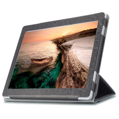 PU Tablet Case Tri-foldable Stand Function for Cube iPlay 10