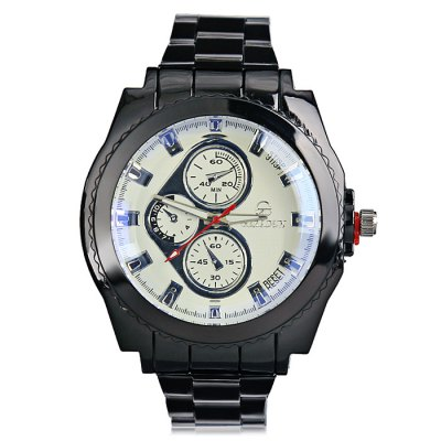 GERIDUN Men Fashionable Unique Steel Band Wrist WatchMens Watches<br>GERIDUN Men Fashionable Unique Steel Band Wrist Watch<br><br>Band material: Steel<br>Band size: 21.5 x 2cm<br>Brand: GERIDUN<br>Case material: Steel<br>Clasp type: Butterfly clasp<br>Dial size: 5 x 5 x 1.3cm<br>Display type: Analog<br>Movement type: Quartz watch<br>Package Contents: 1 x Watch, 1 x Box<br>Package size (L x W x H): 8.00 x 7.50 x 5.50 cm / 3.15 x 2.95 x 2.17 inches<br>Package weight: 0.1100 kg<br>Product size (L x W x H): 21.50 x 5.00 x 1.30 cm / 8.46 x 1.97 x 0.51 inches<br>Product weight: 0.0600 kg<br>Shape of the dial: Round<br>Watch mirror: Acrylic<br>Watch style: Fashion<br>Watches categories: Men
