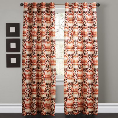 Ink-jet Printing Colorful Pattern Window Curtains