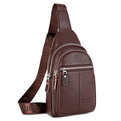 Leisure Durable Men Chest BagCrossbody Bags<br>Leisure Durable Men Chest Bag<br><br>Closure Type: Zip<br>Features: Wearable<br>Gender: Men<br>Material: PU<br>Package Size(L x W x H): 35.00 x 20.00 x 6.00 cm / 13.78 x 7.87 x 2.36 inches<br>Package weight: 0.5500 kg<br>Packing List: 1 x Chest Bag<br>Product weight: 0.5000 kg<br>Style: Fashion, Casual<br>Type: Shoulder bag