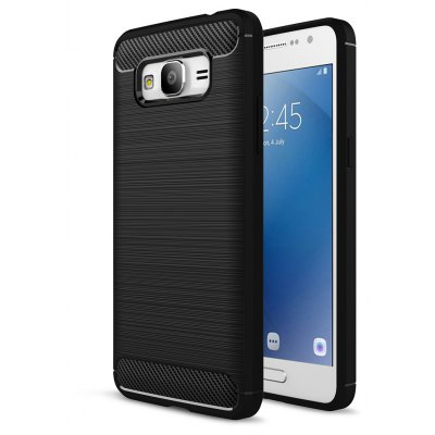 Luanke Brushed Finish Soft Cover for Samsung Galaxy J2 Prime