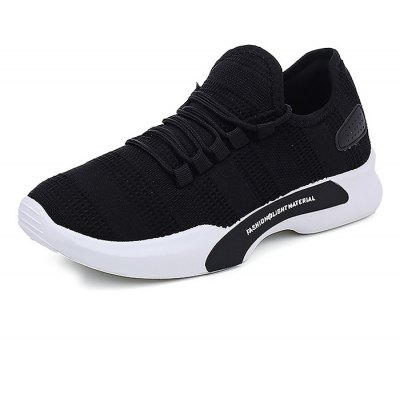 Male Breathable Wearable Mesh Running Sneakers