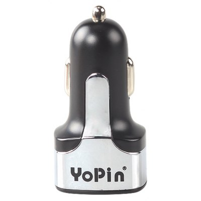 YoPin CC - 023 Car Charger Adapter Dual USB Quick Charge