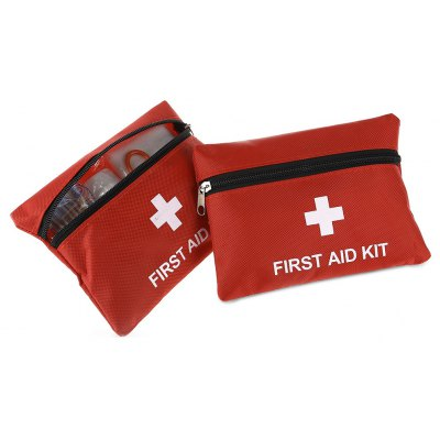 2PCS Portable 13 in 1 Emergency First Aid Kit Medical Bag