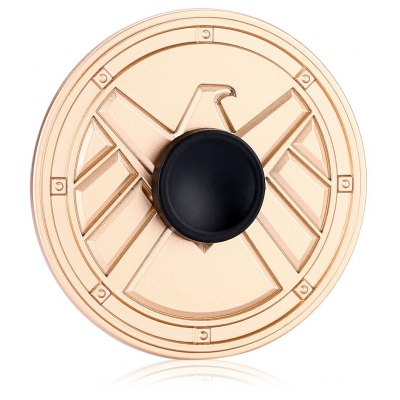 Round Eagle Medal Style ADHD Fidget Spinner