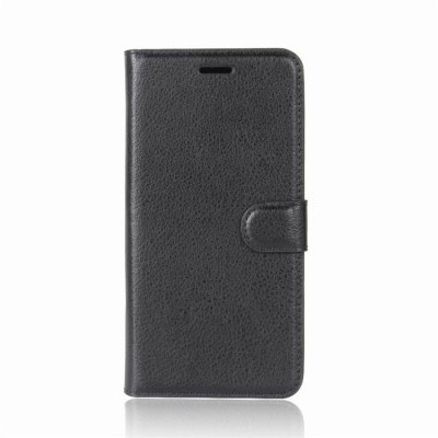 PU Leather Lichee Grain Wallet Phone Case for iPhone 8