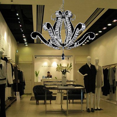 Clothing Store Decorative LED Crystal Chandelier Light 220V