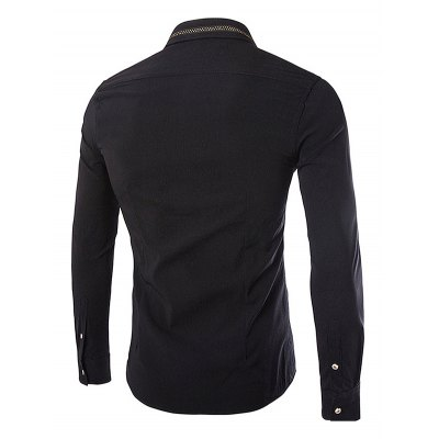 Business Fashion Classical Long Sleeve ShirtMens Shirts<br>Business Fashion Classical Long Sleeve Shirt<br><br>Material: Cotton, Polyester<br>Package Contents: 1 x Men Shirt<br>Package size: 35.00 x 25.00 x 2.00 cm / 13.78 x 9.84 x 0.79 inches<br>Package weight: 0.3400 kg<br>Product weight: 0.3000 kg