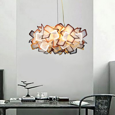 E14 8 Branches Creative Gorgeous Pendant Lamp 220VPendant Light<br>E14 8 Branches Creative Gorgeous Pendant Lamp 220V<br><br>Battery Included: No<br>Bulb Base: E14<br>Bulb Included: No<br>Chain / Cord Length ( CM ): 100<br>Features: Designers<br>Fixture Height ( CM ): 25<br>Fixture Length ( CM ): 53<br>Fixture Width ( CM ): 53<br>Light Direction: Ambient Light<br>Number of Bulb: 8 Bulbs<br>Package Contents: 1 x Pendant Light, 1 x Installation Component Kit<br>Package size (L x W x H): 63.00 x 63.00 x 28.00 cm / 24.8 x 24.8 x 11.02 inches<br>Package weight: 2.5500 kg<br>Product weight: 2.0000 kg<br>Shade Material: PVC<br>Style: Modern/Contemporary<br>Suggested Room Size: 10 - 15?<br>Suggested Space Fit: Indoors<br>Type: Pendant Light<br>Voltage ( V ): AC220