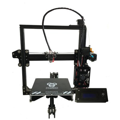 He3D EI3 Full Metal Extruder 3D Printer Kit3D Printers, 3D Printer Kits<br>He3D EI3 Full Metal Extruder 3D Printer Kit<br><br>Brand: He3D<br>Engraving Area: 430 X 440 X 400mm<br>LCD Screen: Yes<br>Model: EI3<br>Nozzle diameter: 0.4mm<br>Package size: 47.00 x 34.00 x 23.00 cm / 18.5 x 13.39 x 9.06 inches<br>Package weight: 8.6500 kg<br>Packing Contents: 1 x 3D Printer Kit, 1 x Power Adaptor<br>Packing Type: unassembled packing<br>Platform temperature: Room temperature to 110 degree<br>Print speed: 150mm/s<br>Product size: 43.00 x 44.00 x 40.00 cm / 16.93 x 17.32 x 15.75 inches<br>Product weight: 7.5000 kg<br>System support: Mac, Windows,  Linux<br>Type: DIY<br>Voltage: 110V/220V<br>Working Power: 250W<br>XY-axis positioning accuracy: 0.012mm<br>Z-axis positioning accuracy: 0.004mm