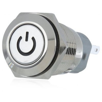 XSC 12V 16mm LED Lighting Metal On / Off Switch