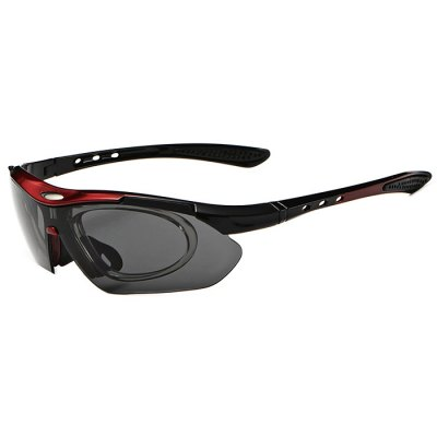 CTSmart 0089 PC Lens Cycling Glasses SetsCycling Sunglasses<br>CTSmart 0089 PC Lens Cycling Glasses Sets<br><br>Brand: CTSmart<br>Features: Replaceable Lens<br>Package Contents: 1 x Glasses, 1 x Storage Bag, 1 x Box, 1 x Clean Cloth, 1 x Sling, 4 x Lens<br>Package Size(L x W x H): 19.00 x 12.00 x 7.00 cm / 7.48 x 4.72 x 2.76 inches<br>Package weight: 0.3460 kg<br>Product Size(L x W x H): 15.50 x 13.90 x 4.50 cm / 6.1 x 5.47 x 1.77 inches<br>Product weight: 0.1760 kg<br>Suitable for: Cycling, Camping, Mountaineering, Hiking, Traveling<br>Type: Goggle