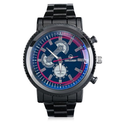 GERIDUN Men Retro Water Resistance Quartz WatchMens Watches<br>GERIDUN Men Retro Water Resistance Quartz Watch<br><br>Band material: Steel<br>Band size: 21.5 x 2cm<br>Brand: GERIDUN<br>Case material: Steel<br>Clasp type: Butterfly clasp<br>Dial size: 5 x 5 x 1.3cm<br>Display type: Analog<br>Movement type: Quartz watch<br>Package Contents: 1 x Watch, 1 x Box<br>Package size (L x W x H): 8.00 x 7.50 x 5.50 cm / 3.15 x 2.95 x 2.17 inches<br>Package weight: 0.1100 kg<br>Product size (L x W x H): 21.50 x 5.00 x 1.30 cm / 8.46 x 1.97 x 0.51 inches<br>Product weight: 0.0600 kg<br>Shape of the dial: Round<br>Watch mirror: Acrylic<br>Watch style: Fashion, Retro<br>Watches categories: Men