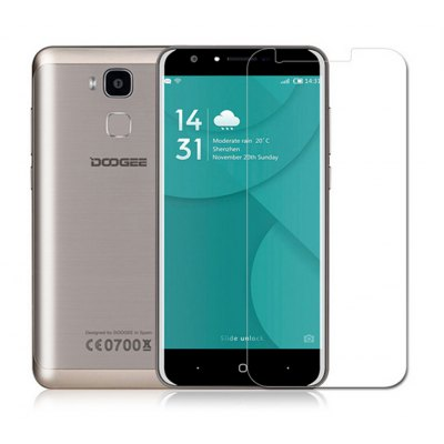 Naxtop 1PC Tempered Glass Screen Film for Doogee Y6C / Y6
