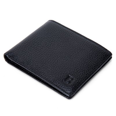 Men Fashion Solid Color Bifold Leather WalletWallets<br>Men Fashion Solid Color Bifold Leather Wallet<br><br>Features: Wearable<br>Gender: Men<br>Material: Leather<br>Package Size(L x W x H): 12.00 x 9.50 x 2.30 cm / 4.72 x 3.74 x 0.91 inches<br>Package weight: 0.0800 kg<br>Packing List: 1 x Wallet<br>Product Size(L x W x H): 11.00 x 8.50 x 1.30 cm / 4.33 x 3.35 x 0.51 inches<br>Product weight: 0.0500 kg<br>Style: Casual, Fashion<br>Type: Wallet