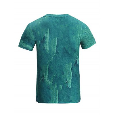 Simple Round Collar 3D Printed T-shirtMens Short Sleeve Tees<br>Simple Round Collar 3D Printed T-shirt<br><br>Fabric Type: Polyester<br>Material: Polyester<br>Neckline: Round Collar<br>Package Content: 1 x T-shirt<br>Package size: 35.00 x 25.00 x 2.00 cm / 13.78 x 9.84 x 0.79 inches<br>Package weight: 0.2500 kg<br>Product weight: 0.2000 kg<br>Season: Summer<br>Sleeve Length: Short Sleeves<br>Style: Casual