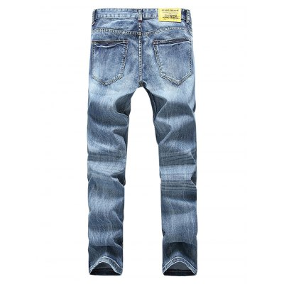 Straight-leg Broken Hole Close-fitting PantsMens Pants<br>Straight-leg Broken Hole Close-fitting Pants<br><br>Material: Cotton<br>Package Contents: 1 x Pants, 1 x Packaging Bag, 1 x Pants, 1 x Packaging Bag, 1 x Pants, 1 x Packaging Bag<br>Package size: 35.00 x 25.00 x 2.00 cm / 13.78 x 9.84 x 0.79 inches, 35.00 x 25.00 x 2.00 cm / 13.78 x 9.84 x 0.79 inches<br>Package weight: 0.6500 kg<br>Product weight: 0.5800 kg
