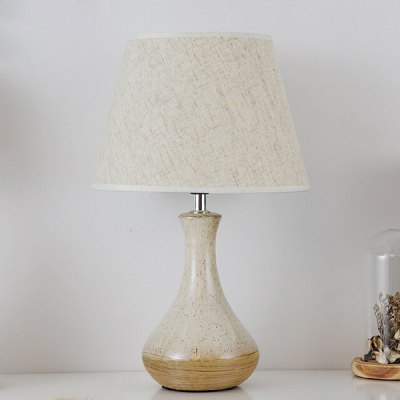 E27 Modern Cute Nordic Bedside Table Desk Lamp 220VTable Lamps<br>E27 Modern Cute Nordic Bedside Table Desk Lamp 220V<br><br>Available Color: Off-white<br>Bulb Base Type: E27<br>Material: Ceramic, Fabric<br>Package Contents: 1 x Table Lamp, 1 x Installation Component Kit<br>Package size (L x W x H): 30.00 x 30.00 x 45.00 cm / 11.81 x 11.81 x 17.72 inches<br>Package weight: 3.0500 kg<br>Product size (L x W x H): 25.00 x 25.00 x 40.00 cm / 9.84 x 9.84 x 15.75 inches<br>Product weight: 2.5000 kg<br>Suitable for: Home use, Home Decoration, Office