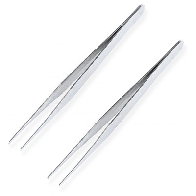 AC - 72 2PCS Stainless Steel Fine-pointed Forceps