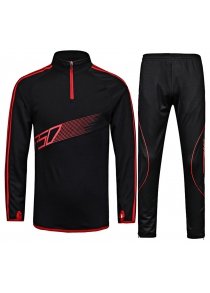 Simple Soccer Training Suit Fashionable Long Sleeve statsuit