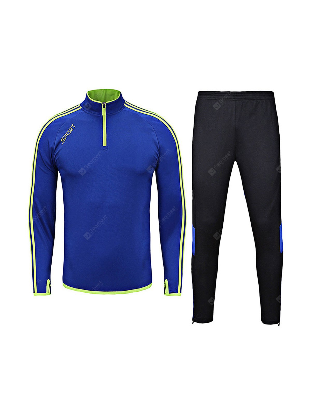 Breathable Quick Dry Long Sleeve Soccer Training statsuit