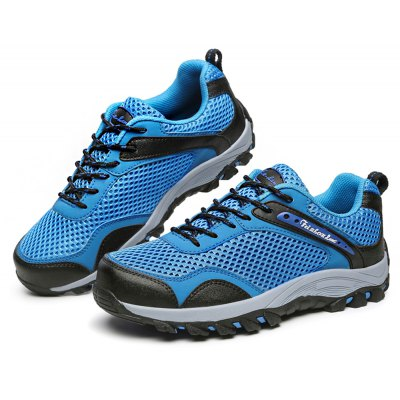 Male Anti Slip Mesh Light Outdoor Hiking Sneakers