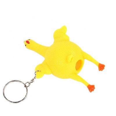Squishy Squeeze Toys Chicken and Eggs Key Chain