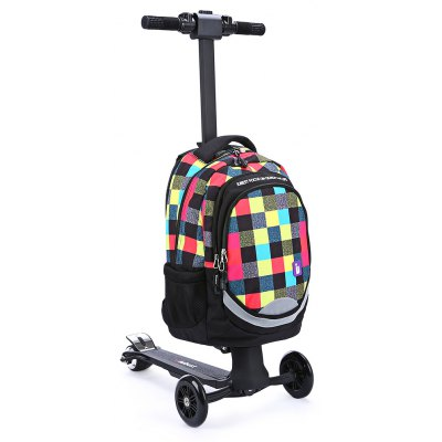 iubest IU - DB02 3-wheel Deachable Electric Backpack Scooter