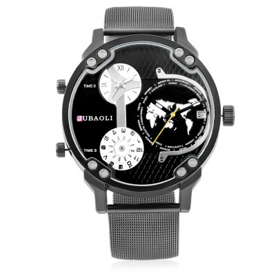JUBAOLI W1178 Durable Quartz Men WatchMens Watches<br>JUBAOLI W1178 Durable Quartz Men Watch<br><br>Band material: Steel<br>Brand: Jubaoli<br>Case material: Alloy<br>Clasp type: Pin buckle<br>Display type: Analog<br>Hour formats: 12 Hour<br>Movement type: Multiple Movements<br>Package Contents: 1 x Watch, 1 x Box<br>Package size (L x W x H): 34.50 x 13.00 x 6.50 cm / 13.58 x 5.12 x 2.56 inches<br>Package weight: 0.1600 kg<br>Product size (L x W x H): 26.00 x 5.00 x 1.20 cm / 10.24 x 1.97 x 0.47 inches<br>Product weight: 0.1100 kg<br>The dial diameter: 5cm<br>The dial thickness: 1.2cm<br>Watches categories: Men<br>Water resistance : No