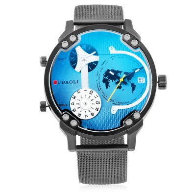 JUBAOLI W1178 Durable Quartz Men WatchMens Watches<br>JUBAOLI W1178 Durable Quartz Men Watch<br><br>Band material: Steel<br>Brand: Jubaoli<br>Case material: Alloy<br>Clasp type: Pin buckle<br>Display type: Analog<br>Hour formats: 12 Hour<br>Movement type: Multiple Movements<br>Package Contents: 1 x Watch, 1 x Box, 1 x Watch, 1 x Box<br>Package size (L x W x H): 34.50 x 13.00 x 6.50 cm / 13.58 x 5.12 x 2.56 inches, 34.50 x 13.00 x 6.50 cm / 13.58 x 5.12 x 2.56 inches<br>Package weight: 0.1600 kg<br>Product size (L x W x H): 26.00 x 5.00 x 1.20 cm / 10.24 x 1.97 x 0.47 inches<br>Product weight: 0.1100 kg<br>The dial diameter: 5cm<br>The dial thickness: 1.2cm<br>Watches categories: Men<br>Water resistance : No