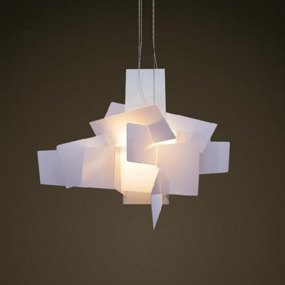 Simple Personality Acrylic Boom Stacked Pendant Light