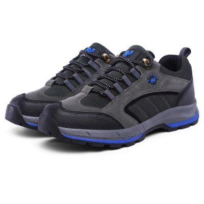 ZHJLUT Male Athletic Lace Up Light Outdoor Walking Shoes