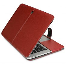 ENKAY PU Leather Full Cover Case for MacBook Air 13.3 inch