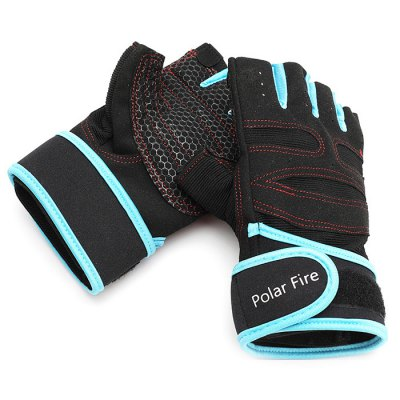 Polarfire STT303 Pair of Half-finger Anti-slip Cycling GlovesCycling Gloves<br>Polarfire STT303 Pair of Half-finger Anti-slip Cycling Gloves<br><br>Brand: PolarFire<br>Gender: Unisex<br>Package Contents: 1 x Pair of Gloves<br>Package size (L x W x H): 25.00 x 14.00 x 3.50 cm / 9.84 x 5.51 x 1.38 inches<br>Package weight: 0.1000 kg<br>Product weight: 0.0760 kg<br>Size: M