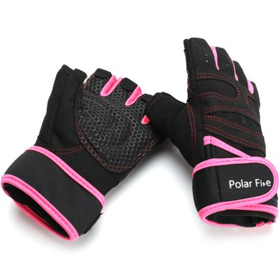 Polarfire STT303 Pair of Half-finger Anti-slip Cycling GlovesCycling Gloves<br>Polarfire STT303 Pair of Half-finger Anti-slip Cycling Gloves<br><br>Brand: PolarFire<br>Gender: Unisex<br>Package Contents: 1 x Pair of Gloves<br>Package size (L x W x H): 25.00 x 14.00 x 3.50 cm / 9.84 x 5.51 x 1.38 inches<br>Package weight: 0.1000 kg<br>Product weight: 0.0760 kg<br>Size: L