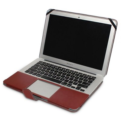ENKAY PU Leather Full Cover Case for MacBook Air 13.3 inchMac Cases/Covers<br>ENKAY PU Leather Full Cover Case for MacBook Air 13.3 inch<br><br>Brand: ENKAY<br>Compatible with: MacBook Air 13.3 inch<br>Material: PU Leather<br>Package Contents: 1 x Cover Case<br>Package size (L x W x H): 35.00 x 25.00 x 2.50 cm / 13.78 x 9.84 x 0.98 inches<br>Package weight: 0.3880 kg<br>Product size (L x W x H): 33.30 x 23.50 x 1.50 cm / 13.11 x 9.25 x 0.59 inches<br>Product weight: 0.3520 kg