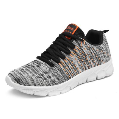 Male Breathable Casual Soft Light Knitted Sports ShoesAthletic Shoes<br>Male Breathable Casual Soft Light Knitted Sports Shoes<br><br>Closure Type: Lace-Up<br>Contents: 1 x Pair of Shoes<br>Decoration: Weave<br>Function: Slip Resistant<br>Materials: Woven Fabric, Rubber<br>Occasion: Sports, Running, Outdoor Clothing, Holiday, Daily, Casual, Shopping<br>Outsole Material: Rubber<br>Package Size ( L x W x H ): 33.00 x 22.00 x 11.00 cm / 12.99 x 8.66 x 4.33 inches<br>Package Weights: 0.82kg<br>Seasons: Autumn,Spring<br>Style: Modern, Leisure, Fashion, Comfortable, Casual<br>Toe Shape: Round Toe<br>Type: Sports Shoes<br>Upper Material: Woven Fabric