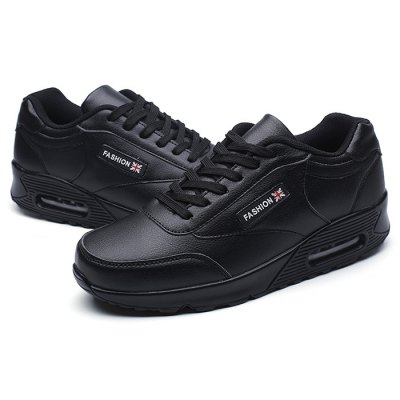 Male Breathable Anti Slip Elastic Outdoor Hiking SneakersAthletic Shoes<br>Male Breathable Anti Slip Elastic Outdoor Hiking Sneakers<br><br>Closure Type: Lace-Up<br>Contents: 1 x Pair of Shoes<br>Function: Slip Resistant<br>Lining Material: Cotton Fabric<br>Materials: PU, Rubber, Cotton<br>Occasion: Sports, Shopping, Outdoor Clothing, Holiday, Running, Casual, Daily<br>Outsole Material: Rubber<br>Package Size ( L x W x H ): 31.00 x 21.00 x 11.00 cm / 12.2 x 8.27 x 4.33 inches<br>Package Weights: 0.73kg<br>Pattern Type: Solid, Letter<br>Seasons: Autumn,Spring<br>Style: Modern, Leisure, Fashion, Comfortable, Casual<br>Toe Shape: Round Toe<br>Type: Sports Shoes<br>Upper Material: PU