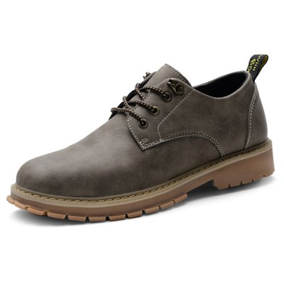 Male Casual Soft Anti Slip Stitching Lace Up Oxford ShoesCasual Shoes<br>Male Casual Soft Anti Slip Stitching Lace Up Oxford Shoes<br><br>Closure Type: Lace-Up<br>Contents: 1 x Pair of Shoes<br>Function: Slip Resistant<br>Materials: Rubber, Microfiber<br>Occasion: Tea Party, Shopping, Office, Holiday, Daily, Casual, Party<br>Outsole Material: Rubber<br>Package Size ( L x W x H ): 33.00 x 22.00 x 11.00 cm / 12.99 x 8.66 x 4.33 inches<br>Package Weights: 0.97kg<br>Pattern Type: Solid<br>Seasons: Autumn,Spring<br>Style: Modern, Leisure, Fashion, Comfortable, Casual, Business<br>Toe Shape: Round Toe<br>Type: Casual Leather Shoes<br>Upper Material: Microfiber