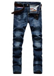 Male Leisurely Slim Jeans