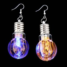 Colorful LED Luminous Earrings