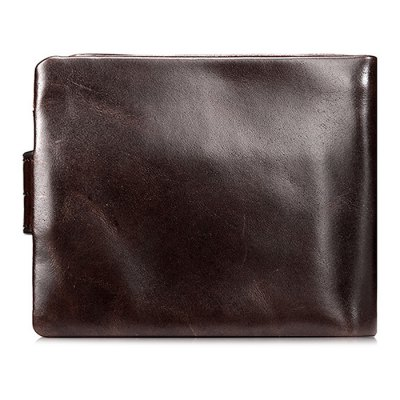 Leisure Retro Bifold Leather Wallet for MenWallets<br>Leisure Retro Bifold Leather Wallet for Men<br><br>Features: Wearable<br>Gender: Men<br>Material: Leather<br>Package Size(L x W x H): 12.00 x 2.50 x 10.00 cm / 4.72 x 0.98 x 3.94 inches<br>Package weight: 0.0960 kg<br>Packing List: 1 x Wallet<br>Product Size(L x W x H): 11.00 x 1.50 x 9.00 cm / 4.33 x 0.59 x 3.54 inches<br>Product weight: 0.0660 kg<br>Style: Casual, Fashion<br>Type: Wallet