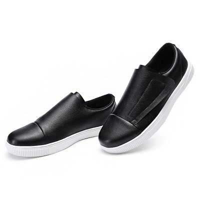 Male Simple Casual Soft Flat Slip On Leather ShoesCasual Shoes<br>Male Simple Casual Soft Flat Slip On Leather Shoes<br><br>Closure Type: Slip-On<br>Contents: 1 x Pair of Shoes<br>Function: Slip Resistant<br>Materials: Rubber, Leather<br>Occasion: Tea Party, Shopping, Office, Holiday, Daily, Casual, Party<br>Outsole Material: Rubber<br>Package Size ( L x W x H ): 33.00 x 24.00 x 13.00 cm / 12.99 x 9.45 x 5.12 inches<br>Package Weights: 0.77kg<br>Pattern Type: Solid<br>Seasons: Autumn,Spring<br>Style: Modern, Leisure, Fashion, Comfortable, Casual<br>Toe Shape: Round Toe<br>Type: Casual Leather Shoes<br>Upper Material: Leather