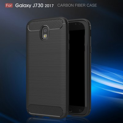 Wkae Case Solid Color Carbon Fiber Texture TPU Soft Protective Case for Samsung  Galaxy J730 2017Samsung J Series<br>Wkae Case Solid Color Carbon Fiber Texture TPU Soft Protective Case for Samsung  Galaxy J730 2017<br><br>Color: Black,Red,Gray,Cadetblue<br>Features: Back Cover<br>Material: TPU, Carbon<br>Package Contents: 1 x phone case<br>Style: Solid Color