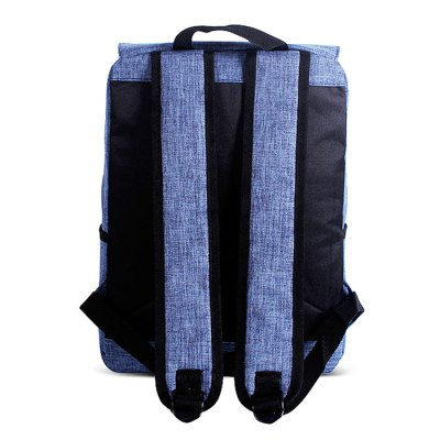 Fashion Canvas Laptop Computer Backpack for MenBackpacks<br>Fashion Canvas Laptop Computer Backpack for Men<br><br>Features: Wearable<br>Gender: Men<br>Material: Polyester, Canvas<br>Package Size(L x W x H): 44.00 x 30.00 x 6.00 cm / 17.32 x 11.81 x 2.36 inches<br>Package weight: 0.6600 kg<br>Packing List: 1 x Backpack<br>Product weight: 0.6000 kg<br>Style: Fashion, Casual<br>Type: Backpacks