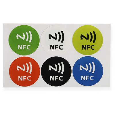 6PCS High-capacity 888-bit NFC Import NDEF NTAG216 Chip